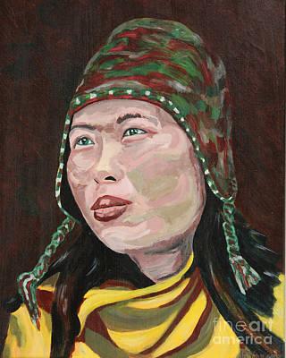 Asian Warrior Art Print by Robert Yaeger