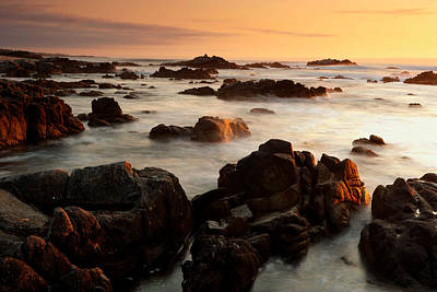 Photograph - Asilomar Sunset by Eric Foltz