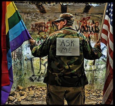 Pride Photograph - Ask Me by Jes Fritze