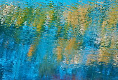 Photograph - Aslant Blue by Britt Runyon