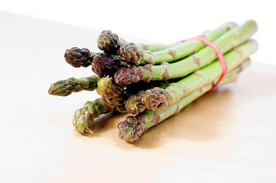 Asparagus Wall Art - Photograph - Asparagus by Daniel Sambraus/science Photo Library