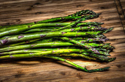 Photograph - Asparagus by David Morefield