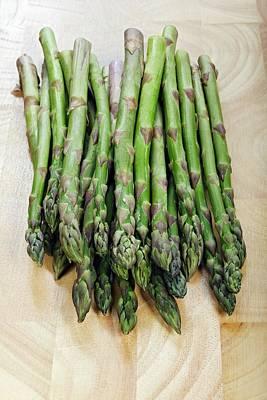 Asparagus Wall Art - Photograph - Asparagus by Geoff Kidd/science Photo Library