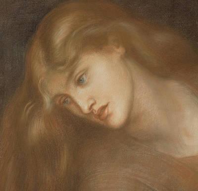 Medusa Painting - Aspecta Medusa by Dante Charles Gabriel Rossetti