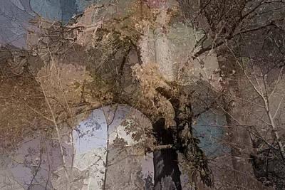 Aspen Abstract Art Print by Bonnie Bruno