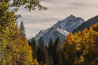 Photograph - Aspen And Mountains 3 by Lee Kirchhevel