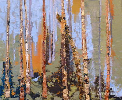 Aspen Forest Colorado Original by Susan A Becker