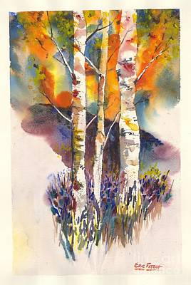 Painting - Aspen Grove by Eric Fetsch