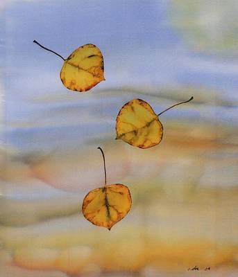 Aspen In Fall Art Print by Carolyn Doe
