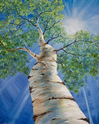 Painting - Aspen Light by Melinda Cummings