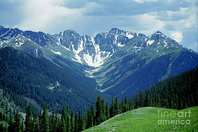 Aspen Mountain Art Print by Teri Brown