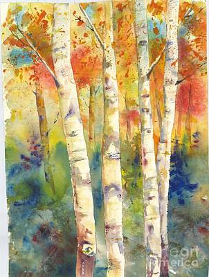Painting - Aspen One by Eric Fetsch