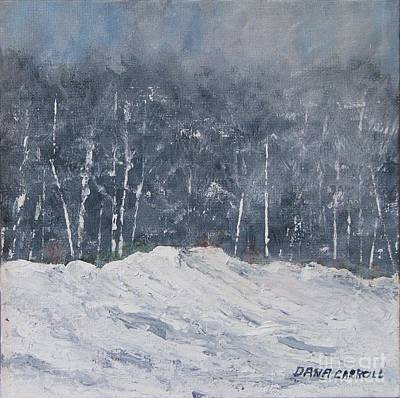 Painting - Aspen Ridge Blizzard by Dana Carroll