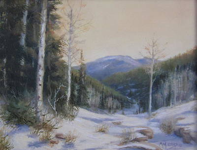 Painting - Aspen Trail by Mar Evers