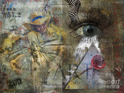 Recently Sold - Surrealism Digital Art - Aspergers by Nola Lee Kelsey