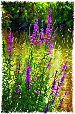 Weed Digital Art - Aspirations Vignette by Steve Harrington
