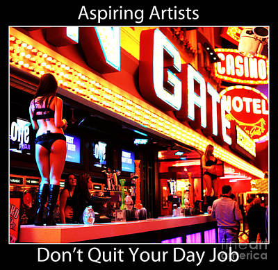 Aspiring Artists Art Print by John Rizzuto