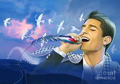 Jerusalem Painting - Assaf by Imad Abu shtayyah