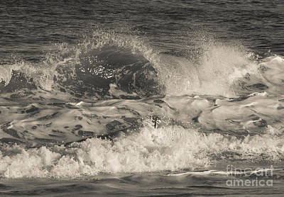 Photograph - Assateague Waves by Chris Scroggins