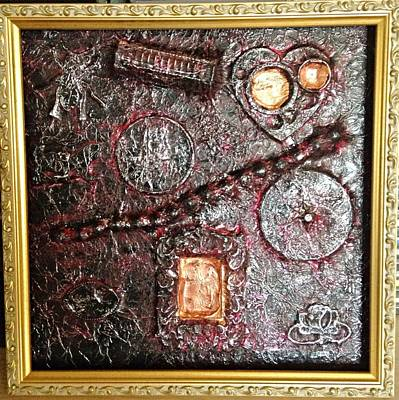 Mixed Media - Assemblage Art By Alfredo Garcia Art  by Alfredo Garcia