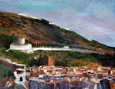 Assisi Hillside Art Print