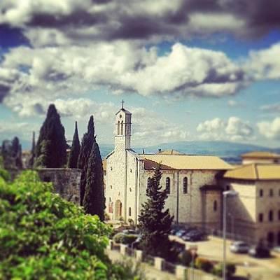 View Wall Art - Photograph - Assisi. San Francesco Place by Raimond Klavins
