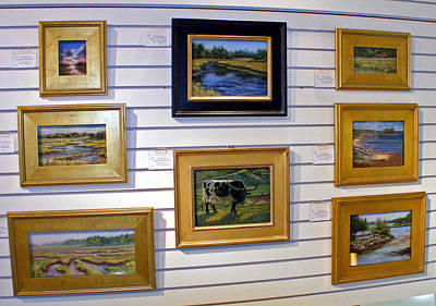 Painting - assorted frames I use by Denise Horne-Kaplan
