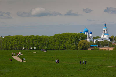 Assumption Photograph - Assumption Cathedral, Bogolyubovo by Panoramic Images