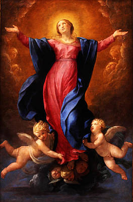Celestial Painting - Assumption Of The Virgin by Celestial Images
