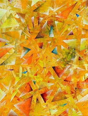 Constellations Painting - Asterisms by Regina Valluzzi