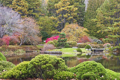 Landscap Photograph - Asticou Azelea Garden - Northeast Harbor - Mount Desert Island - Maine by Keith Webber Jr