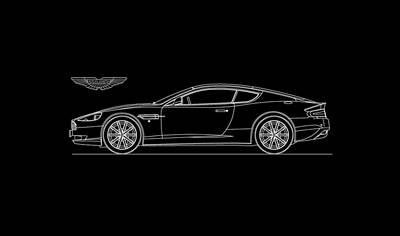 Photograph - Aston Martin Db9 Phone Case by Mark Rogan