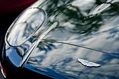 Hood Emblem Photograph - Aston Martin Hood Emblem 4 by Jill Reger
