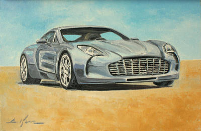 Aston Martin One 77 Original by Luke Karcz