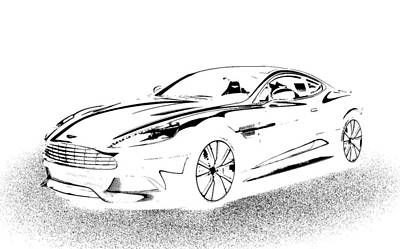 Up Up And Away - Aston Martin by Rogerio Mariani