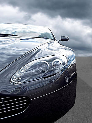 Photograph - Aston Martin Vantage Detail by Gill Billington