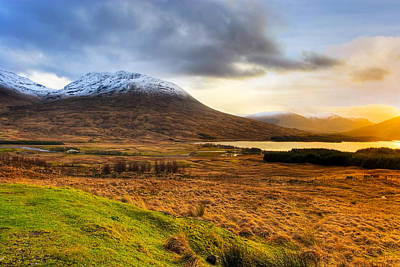 Scottish Highlands Photograph - Astonishing Beauty Of Loch Tulla by Mark E Tisdale