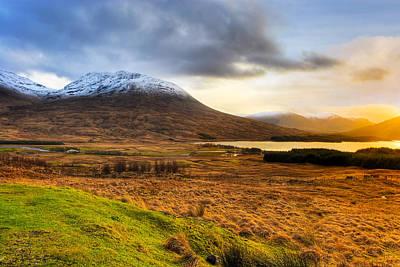 Rannoch Moor Photograph - Astonishing Beauty Of Loch Tulla by Mark E Tisdale