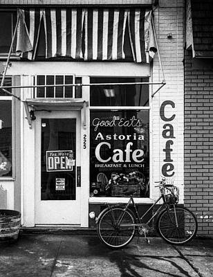 Astoria Cafe Art Print