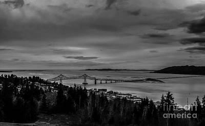 Photograph - Astoria Megler Bridge by Robert Bales