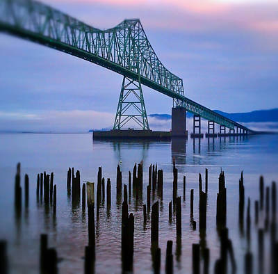Astoria Sunrise Art Print