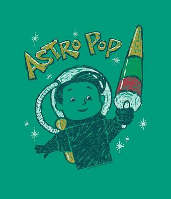 Candy Digital Art - Astro Pop - Astro Boy by Brand A