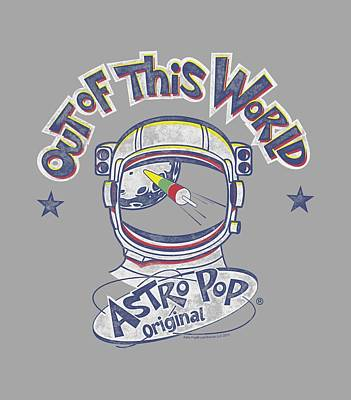 Candy Digital Art - Astro Pop - Out Of The World by Brand A