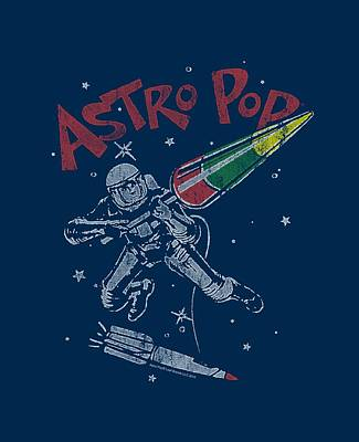 Candy Digital Art - Astro Pop - Space Joust by Brand A