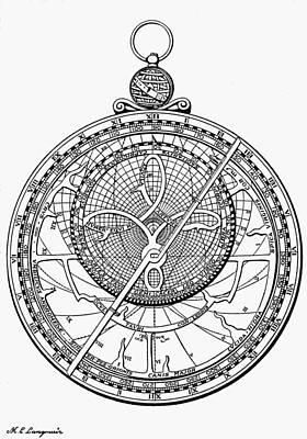 Astrolabe, 1574 Art Print
