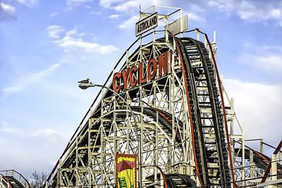 Keith Richards - Astroland Cyclone  6422 by Karen Celella