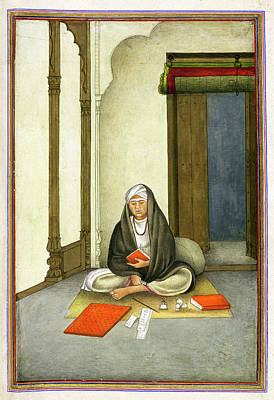 Astrologer In India Art Print by British Library