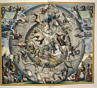Astrological Sphere Art Print by British Library