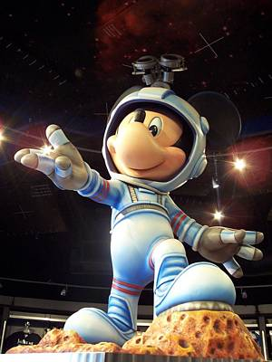 Photograph - Astronaut Mickey by Georgia Hamlin