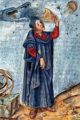 Astronomer 16th Century Art Print by Nypl